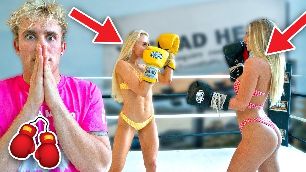 boxing hot girls match